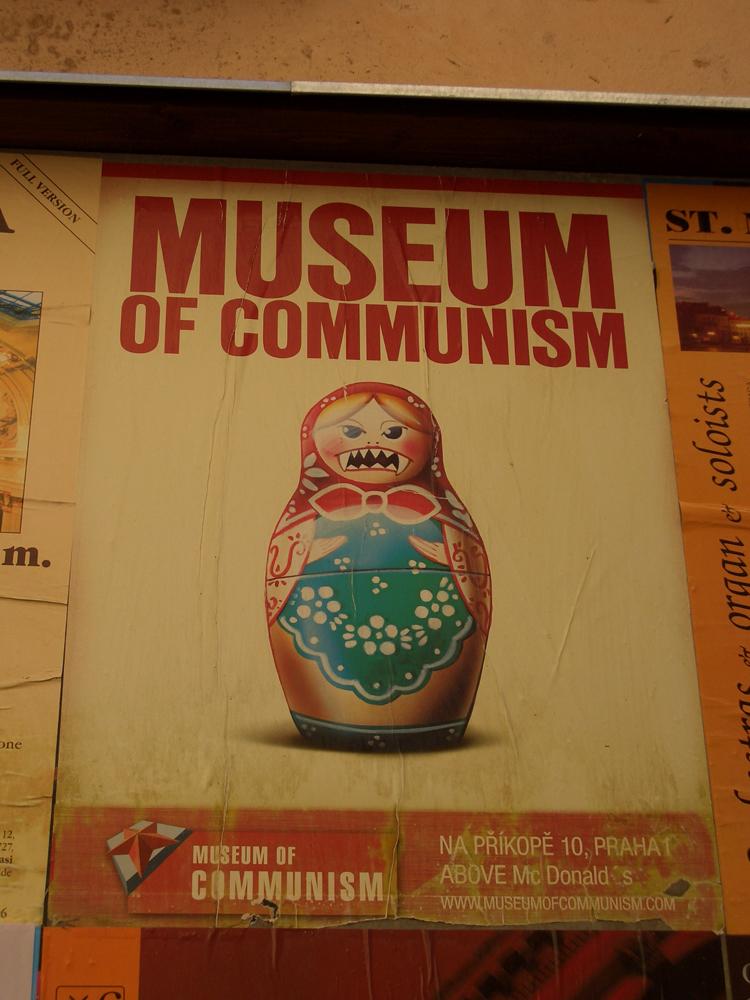 Museo del comunismo, Praha